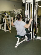 Back Strength Training – Lat Pull Down