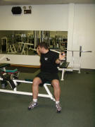 Back Strength Training – easy - twists