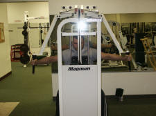 sShoulder Strength Training – posterior deltoid - Reverse Machine Fly