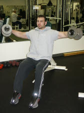 Should Strength Training – medial deltoid - seated lateral raise