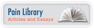 Pain Library for lower back and neck pain essays and articles.